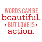 words can be beautiful