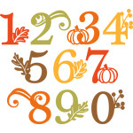 fall number set