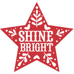 nordic shine bright star decoration