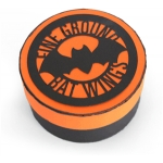 3d halloween ground bat wings tin