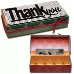 3d pop up gift card thank you box
