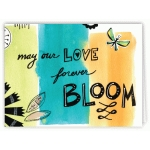 may our love forever bloom card
