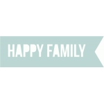 happy family banner