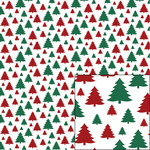 red and green tree pattern