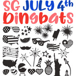 sg july 4th dingbats