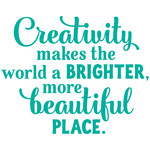 creativity makes the world beautiful