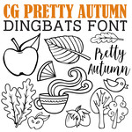cg pretty autumn dingbats
