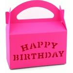 3d happy birthday gable box