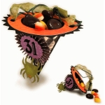 halloween witch hat cup