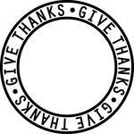 give thanks ring