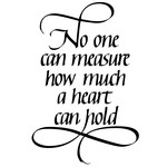 no one can measure