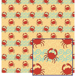 crabs & waves pattern
