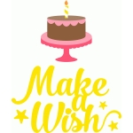 'make a wish' phrase