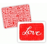 love hearts journaling cards 3x4