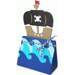 pirate ship favor bag