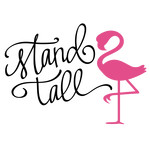 stand tall flamingo phrase