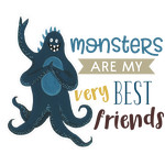 monsters are my very best friends