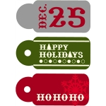 echo park holiday tags