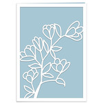 magnolia branch card