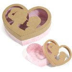 mother and son heart box