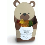 3d bear favor box