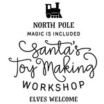 santa's toy making workshop phrase