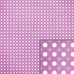 purple polka dots background paper