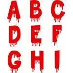 blood alphabet a-i