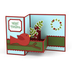pop up box card bird