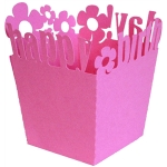 birthday candy box - flowers