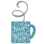 a hug in a mug shape phrase