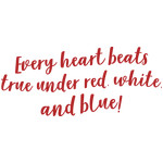 every heart beats blue... phrase