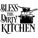 bless dirty kitchen