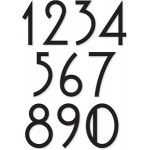 mackintosh font numbers