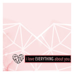 i love everything card