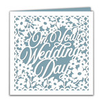 square wedding card