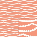 pink pearls pattern