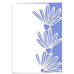 daisies lace edged card