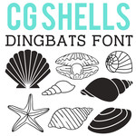 cg shells dingbats