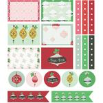 merry ornaments planner stickers