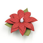 poinsettia tea light