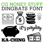 cg money stuff dingbats