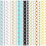 pool-themed washi strips