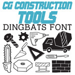 cg construction tools dingbats
