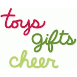 toys gifts cheer