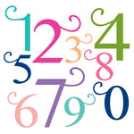 monogram swirl numbers