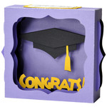 congrats grad gift card box