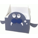 cute sea lion box