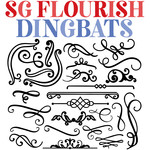 sg flourish dingbats