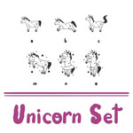 unicorn dingbats